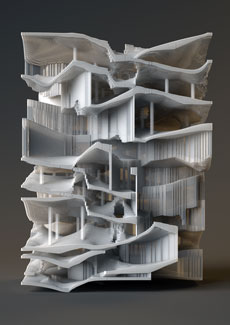 Projects benjamin dillenburger for Architecture oblique