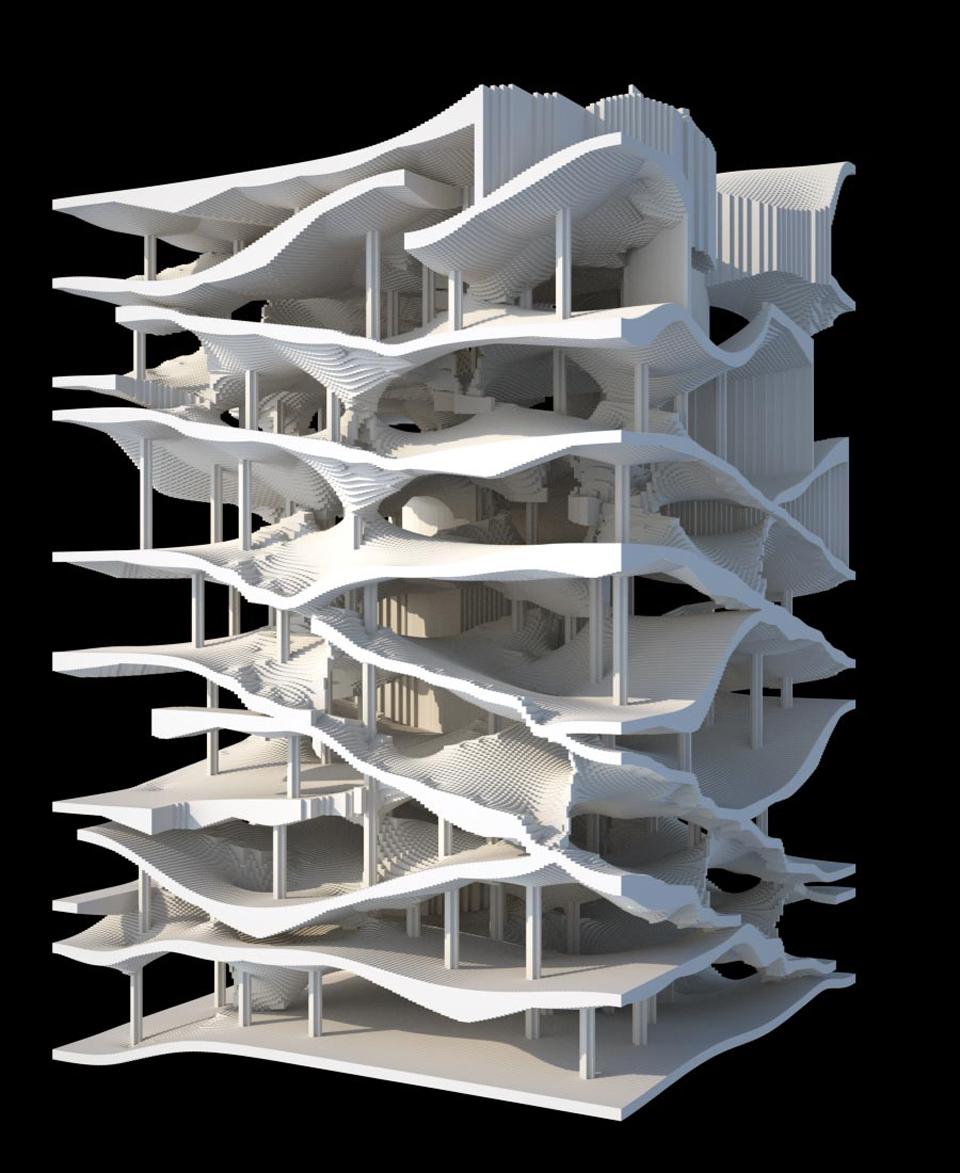 Diagram of oblique circulation best free home design for Architecture oblique